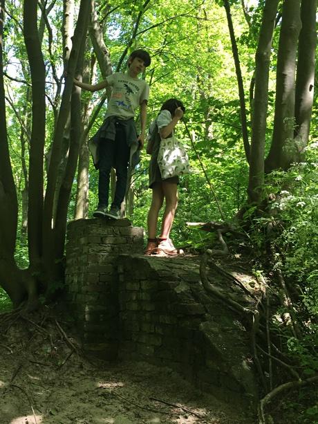 Adam and Alice exploring