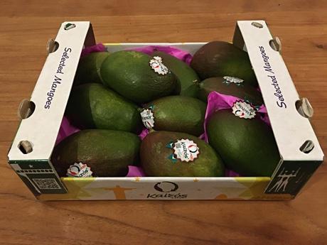 A box of 10 mangoes
