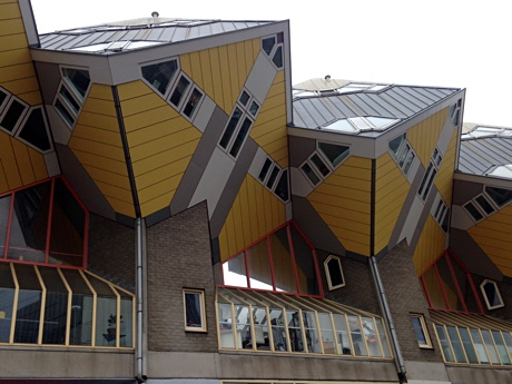 Cube houses, Rotterdam Blaak