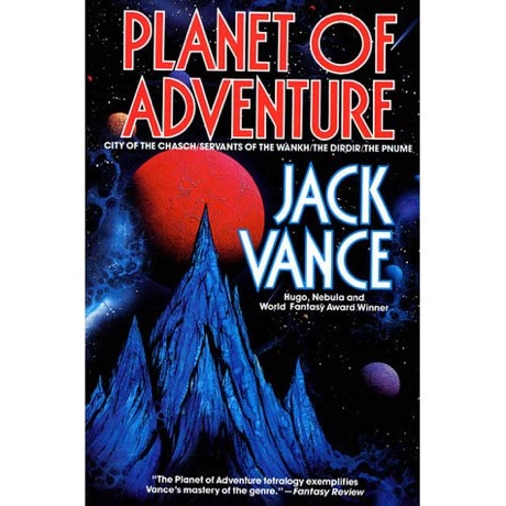 "The cover of ""Planet of Adventure"" by Jack Vance"