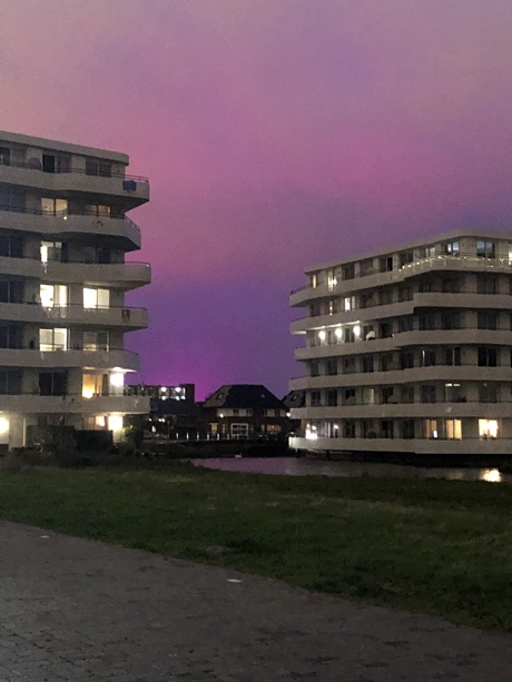 Purple Sky. Photo by Esme