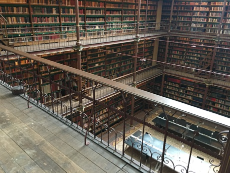 The library of the Rijksmuseum