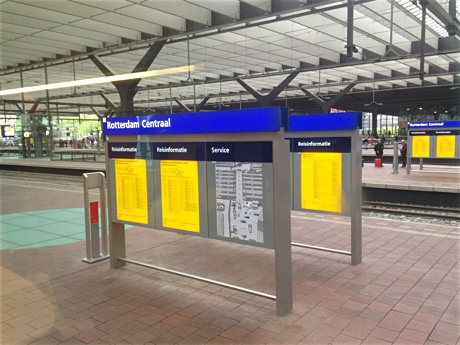 "Train station ""Rotterdam Centraal"""