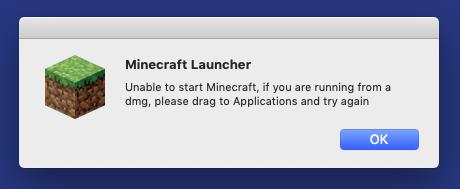 Minecraft Launcher unable to start Minecraft