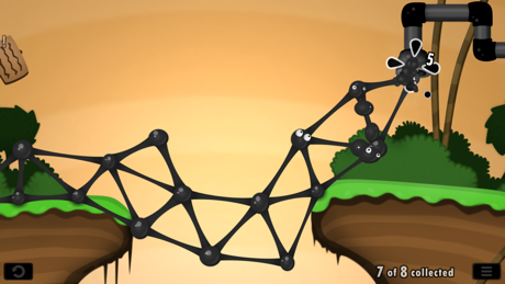 Level 2 of World of Goo: Small Divide